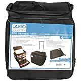 Hampton Art GOGO 200 Crafter Rolling Tote, 15.75-Inch by 16.75-Inch by 8.75-Inch, Black