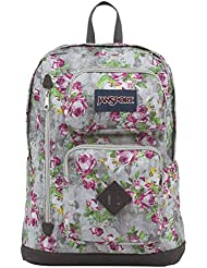 JanSport Womens Classic Mainstream Austin Backpack - Multi Concrete Floral / 17.7H X 12.8W X 5.5D