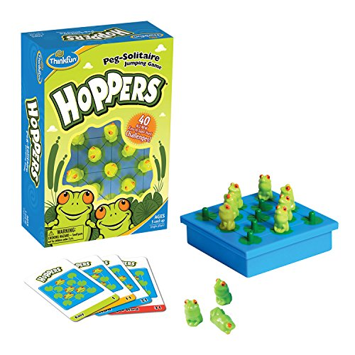 ThinkFun Hoppers Logic Game - Teaches Critical Thinking Skills Through Fun Gameplay