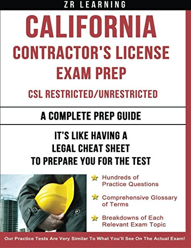 California Contractor's License Exam Prep