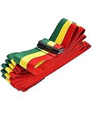 Tricolor Portable African Hand Drum Strap Belt Djembe Shoulder Strap for Stage Performance