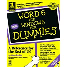 Word 6 for Windows for Dummies