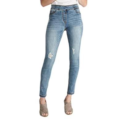 d21d8fcf169 Coco and Carmen OMG Skinny Ankle Jean in Light Distressed Denim 1837043  (Small)
