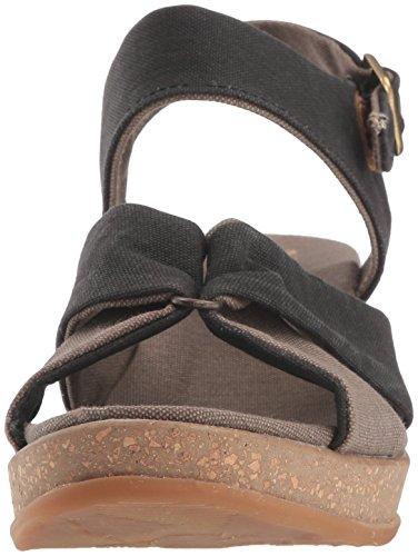 Senza Cromo VEGANA EL E in Modello Sandalo olivina NATURALISTA Azzuro Fasce Leaves CROCIATE A N5007T Linea vqzz1Rxwa