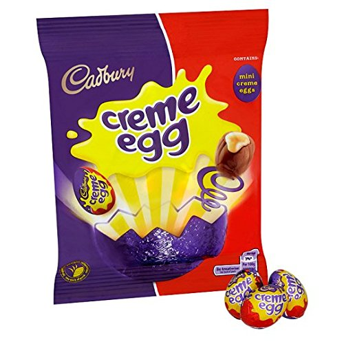 Original Cadbury Creme Egg Bag Minis Imported from the UK, England, Creme Eggs ()