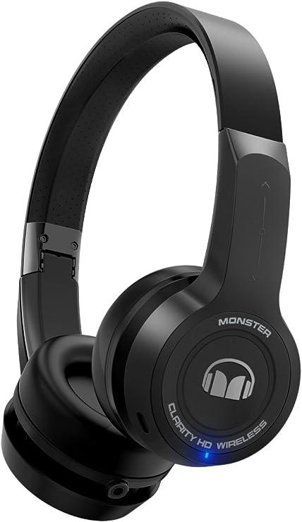 Monster Clarity HD On Ear Bluetooth Wireless Headphones