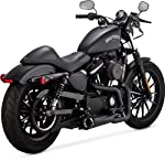 2. Vance & Hines Competition Series 2-Into-1 Exhaust (Black)