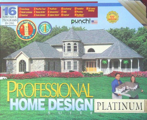 Superb Punch Software Professional Home Design Suite Platinum