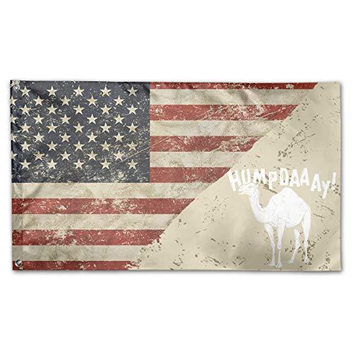 Camel Commercial Hump Day! US Flag 100% Polyester House Flag Decorative Garden Flag Yard Banner Garden Flags -