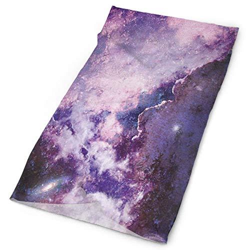 (Magic Purple Supernova Explosion Balaclava Womens Headband Scarf Mens Versatile Bandana, Muffler, Neck Gaiter, Magic, Hatliner Helmet Liner)