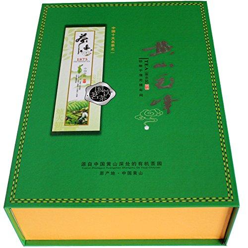 Aseus We set 2017 new tea fragrance Green Tea Mingqian Mount Huangshan Mao Feng (fine) queshe fragrance 500 grams shipping by Aseus-Ltd