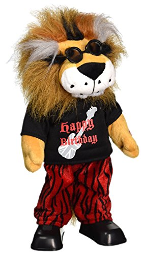 Chantilly Lane Rockin Lion Sings The Beatles Birthday Plush, 15