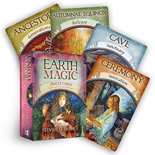 Earth Magic Oracle Cards: A 48-Card Deck and - Magic Earth
