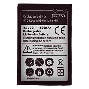 Battery for HTC Legend, Wildfire