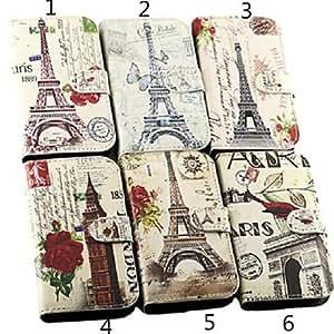 JOE Cartoon Eiffel Tower Pattern Leather Hard Case for Samsung Galaxy Trend Lite7390(Assorted Color) , 6#