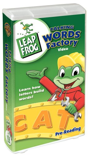 amazon com leap frog talking words factory vhs leapfrog