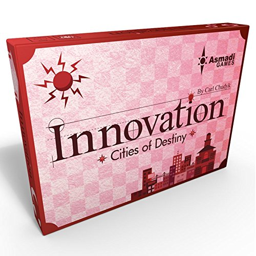 Asmadi Games Innovation: Cities of Destiny Third Edition (Innovation Board Game)