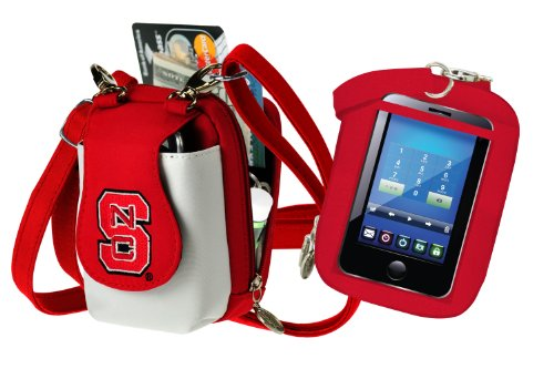 (NCAA North Carolina State Wolfpack Purse Plus Touch)