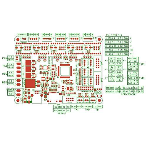 BIQU 3D Printer Part SKR V1.1 32-Bit with ARM CPUControl Board Open Source SmoothieboardSupport TMC2130 TMC2208 Driver 12864 LCD by BIQU (Image #3)