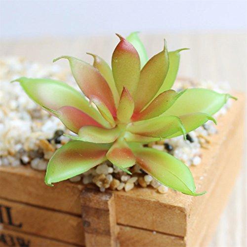 Windse Mini Artificial Succulents Plants Fake Succulent Bonsai Plastic Succulent Flower Land Lotus Rare For Garden Home Office Decor 22