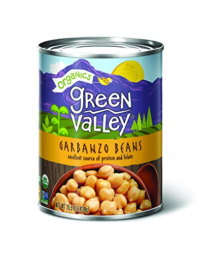 Green Valley Organics Garbanzo Beans, 15 oz (Pack of 12)
