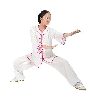 67263658a81c ZooBoo Women s Martial Arts Tai Chi Uniform Kung Fu Clothing Half-Sleeve  Wushu Suit (