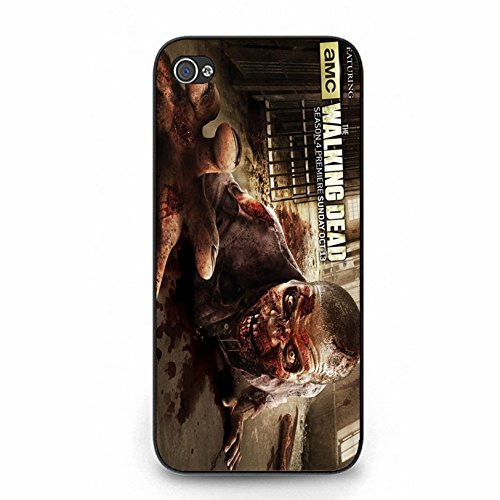 Blood Customized The Walking Dead Phone hülle Handyhülle Cover for Iphone 5/5s,Telefonkasten SchutzHülle