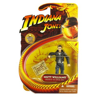 Indian Jones Mutt Williams Crystal Skull Action Figure with