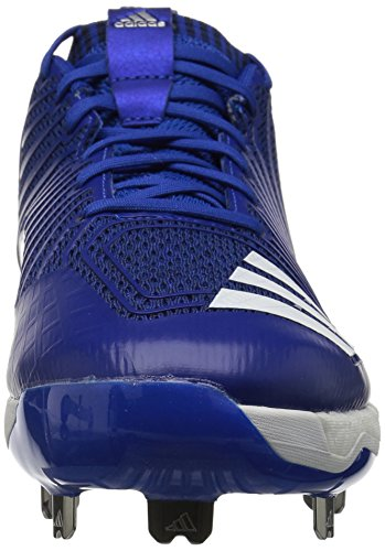adidas Performance Herren Boost Icon 3 Baseballschuh Collegiate Royal / Weiß / Silbermetallic