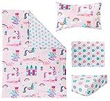 Bloomsbury Mill - 4 Piece Toddler Comforter Set