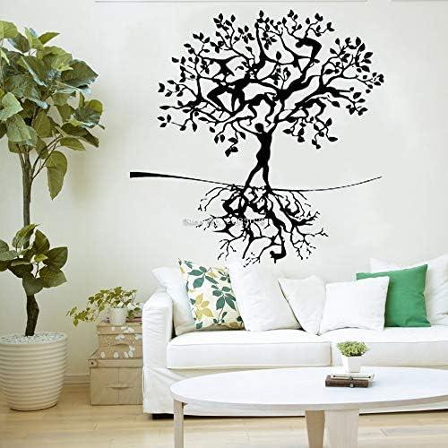 YuanMinglu Pegatinas de Pared de Rama de árbol Humano decoración ...