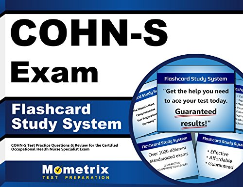 COHN-S Exam Flashcard Study System: COHN-S Test Practice Questions & Review for the Certified Occupational Health Nurse Specialist Exam (Cards)