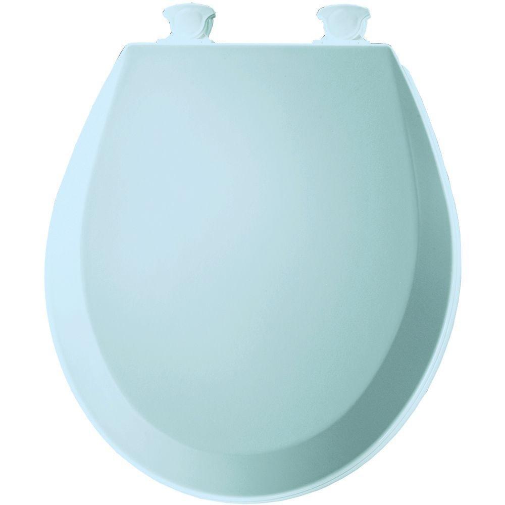 bemis toilet seat hinges. Bemis 500EC063 Molded Wood Round Toilet Seat With Easy Clean and Change  Hinge Venetian Pink Amazon com