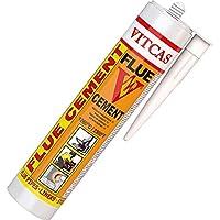 VITCAS Premium–Cemento 1250C–300ml–Cemento de Sellado para Altas temperaturas