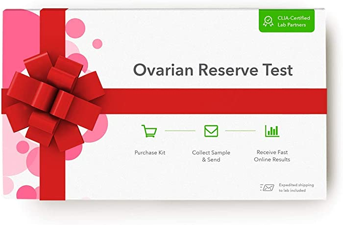 Everlywell Woman's Ovarian Reserve Test - At Home - CLIA-Certified Egg Quantity Indicator Test - Discreet Blood Analysis - Results Within Days - Not Available in NJ, NY, RI