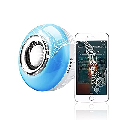Texsens Bluetooth Music Bulb Playing RGB Change Light with 24keys Remote Control Wireless Stereo Audio Speaker ¡­