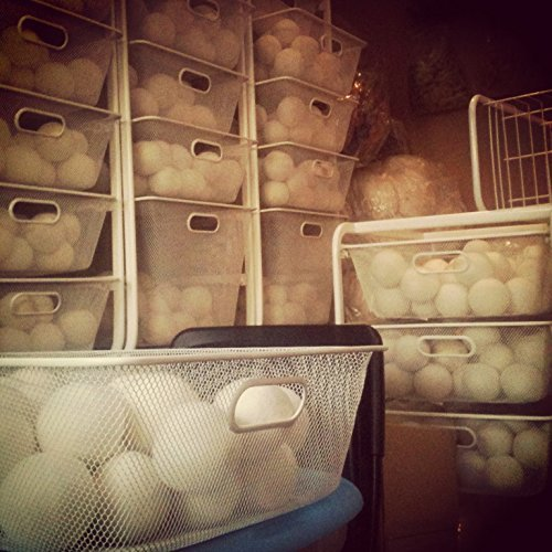 Wool Dryer Balls Eco Organic Anti Static for Clothes Replaces Fabric Softener in Laundry