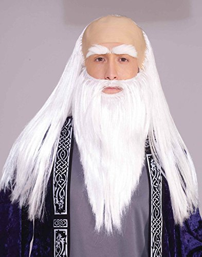 Wizard Adult Disguise Set (As Shown;One Size)