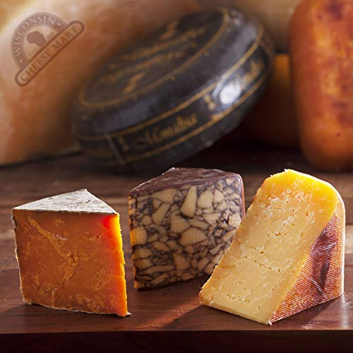 International Cheese of the Month Club - 3 Months by Wisconsin Cheese Mart (Image #1)