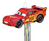 Disney Cars Lightning McQueen Pinata, Pull String