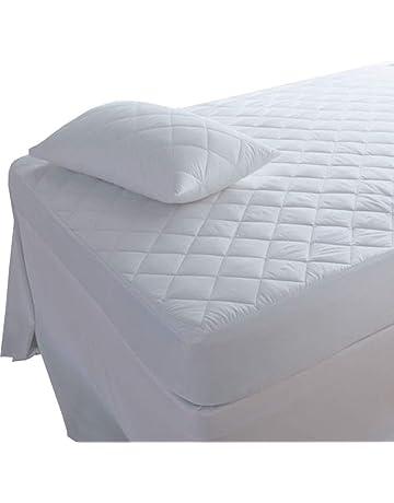 Protector de colchón acolchado Highliving®, extra profundo: 30 ...