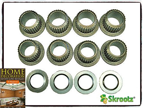95 96 97 98 99 00 01 02 03 04 Chevy S10 GMC S15 door hinge pin bushing kit by Skroutz