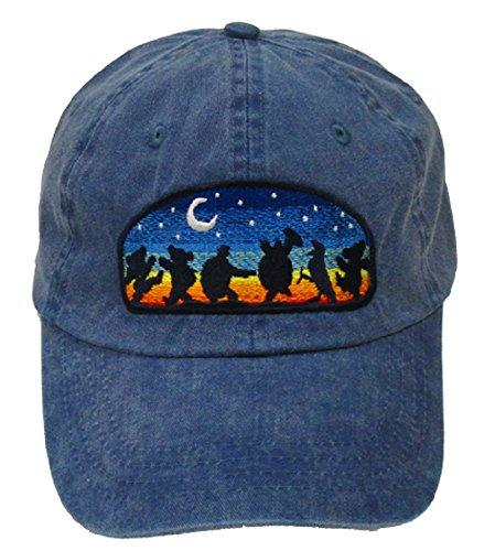 Licensed Grateful Dead Moondance Embroidered Cap (Denim) by Dye The Sky
