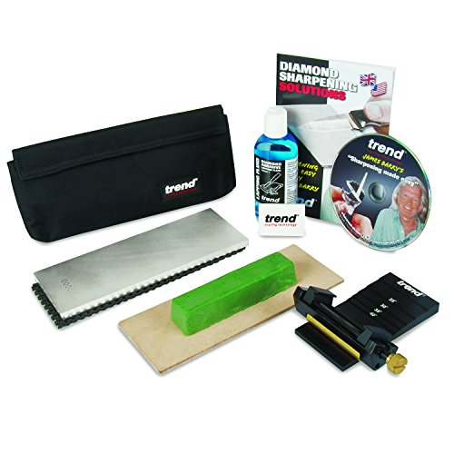Trend DWS/KIT/B Diamond Whetstone Honing and Polishing Kit, Silver by Trend