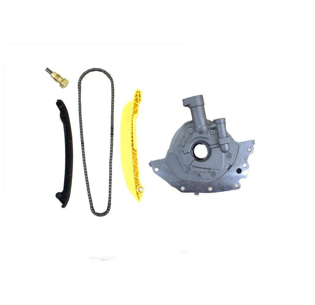 Ford Fiesta Ka Courier 1.6L SOHC Motor Correa De Distribución Kit & Aceite P...: Amazon.es: Coche y moto
