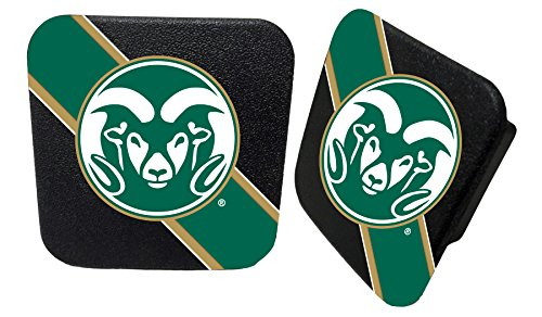 Colorado State Rams Rubber Trailer Hitch Cover for sale  Delivered anywhere in USA