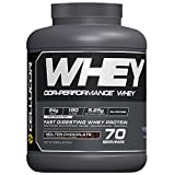 Cellucor Whey Protein Isolate & Concentrate Blend Powder with BCAAs, Post Workout Recovery Drink, Gluten Free Low Carb Low Fat, Molten Chocolate, 70 Servings