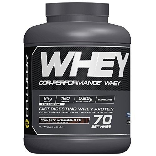 Cellucor Cor-performance Whey 70 Servings, Molten Chocolate, 5.19 Pound