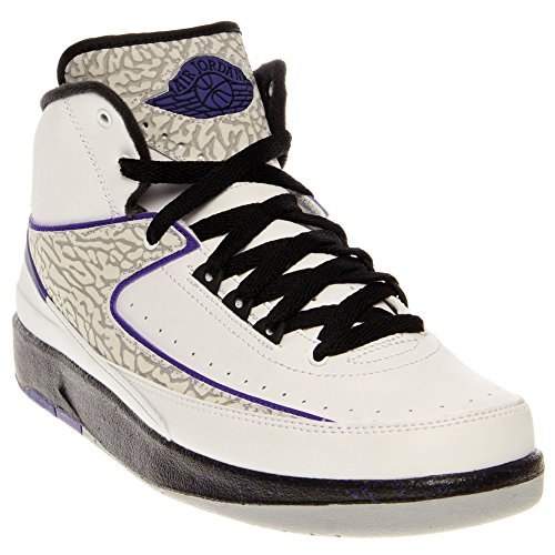 Nike Air Jordan 2 Retro BG Basketballschuhe Sneaker schwarz/grau/infrared Weiß