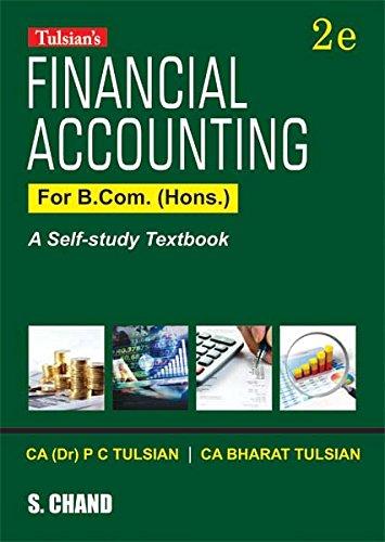Financial Accounting for B.Com. (Hons.)